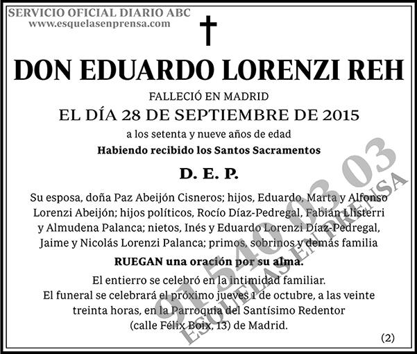 Eduardo Lorenzi Reh